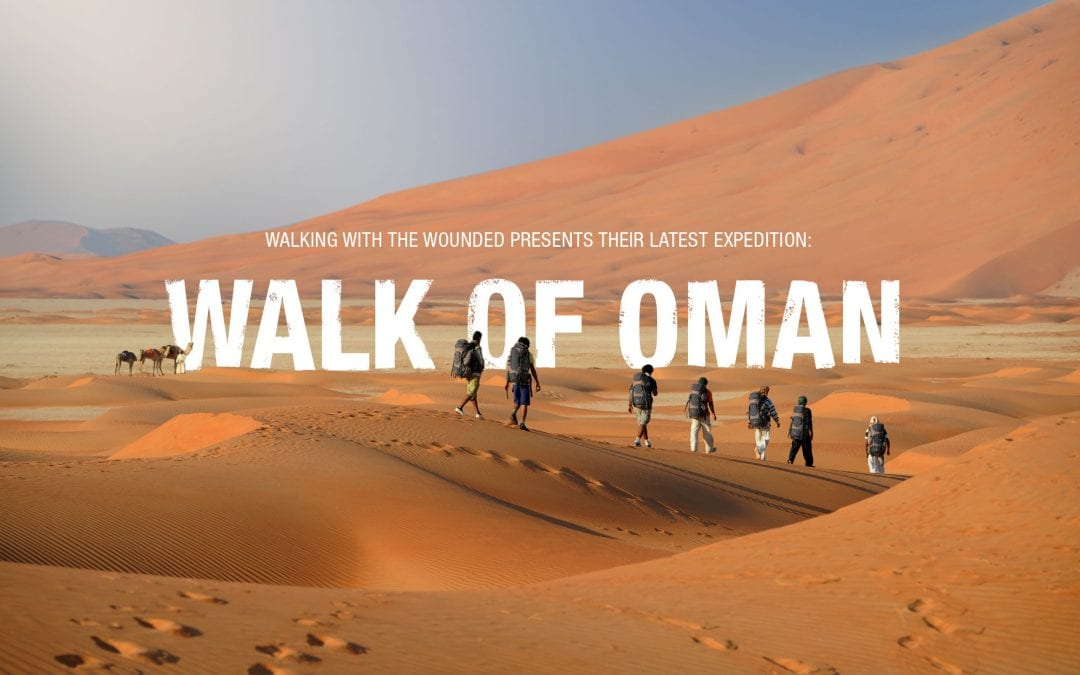 Why are we walking across Oman?