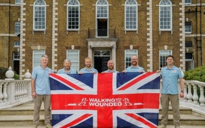 From London to Oman – Walking With The Wounded Celebrate Team Embarking on The Grenadier Walk of Oman